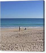 The Treasure Coast At Vero Beach In Florida Canvas Print