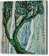 The Tree Energy Canvas Print