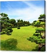 The Tree Garden Canvas Print