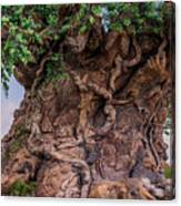 The Tree Of Life Close Canvas Print