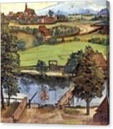 The Trefilerada On Peignitz Canvas Print