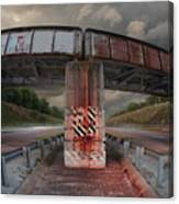 The Trestle With The Pestle Canvas Print
