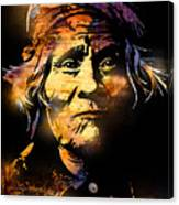 The Tribe Elder Canvas Print