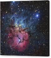 The Trifid Nebula Canvas Print