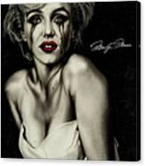 The True Marilyn Canvas Print
