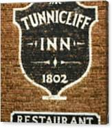 The Tunnicliff Inn - Cooperstown Canvas Print