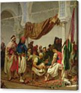 The Turkish Cafe Canvas Print
