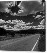 The Turquoise Trail Canvas Print