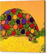 The Turtle In Lighter Colors Canvas Print