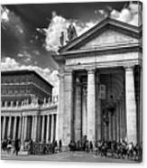 The Tuscan Colonnades In The Vatican Canvas Print