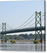 The Twin Bridges Canvas Print