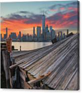 The Twisted Pier Panorama Canvas Print