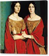 The Two Sisters Canvas Print