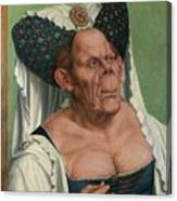 The Ugly Duchess, By Quentin Matsys Canvas Print