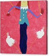 The Un-scaredcrow By Ken Tesoriere Canvas Print