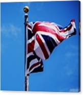 The Flag Of Great Britain Canvas Print