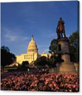 The United States Capitol, Washington Canvas Print