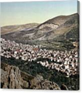 The Vale Of Nablus Canvas Print
