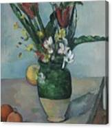 The Vase Of Tulips Canvas Print