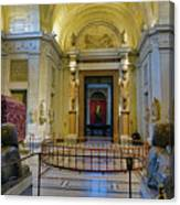 The Vatican Museum In The Vatican City Canvas Print
