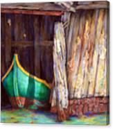 The Venetian Boathouse Canvas Print