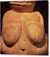 The Venus Of Willendorf Canvas Print