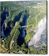 The Vic Falls Gorge Canvas Print