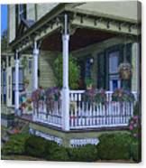 The Victorian Porch Canvas Print