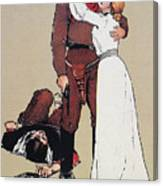 The Victors Prize, 1905 Canvas Print