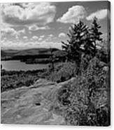 The View From Bald Mountain Canvas Print