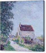 The Village Of Sablons Canvas Print