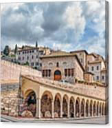 The Village Of St. Francis Of Assisi Canvas Print