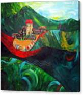 The Village Rivers I Canvas Print