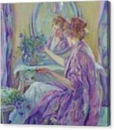 The Violet Kimono 1911 Canvas Print