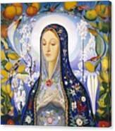 The Virgin,  Joseph Stella Canvas Print