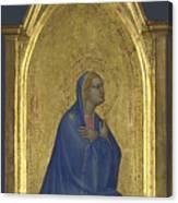 The Virgin   Left Pinnacle Panel Canvas Print