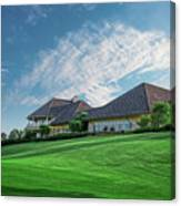 The Virtues Golf Course Clubhouse Canvas Print