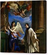 The Vocation Of Saint Aloysius Gonzaga Canvas Print