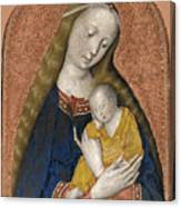 The Vrigin And Child Canvas Print