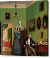 The Waagepetersen Family Canvas Print