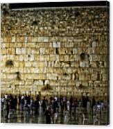 The Wailing Wall - Jerusalem  Canvas Print