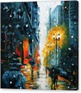 The Walking Man Canvas Print