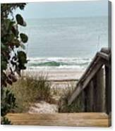 The Walkway To The Beach Canvas Print