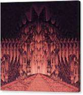 The Walls Of Barad Dur Canvas Print