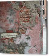 The Walls Of Venice Canvas Print