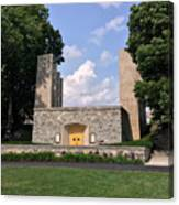 The War Memorial Chapel At Virginia Tech Canvas Print