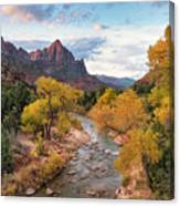 The Watchman At Sunrise Canvas Print