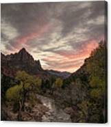 The Watchman Sunset Canvas Print