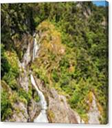 'the Water Of Life' Spring At Doubtful Sound Canvas Print