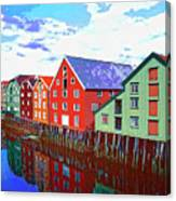 The Waterfront Canvas Print